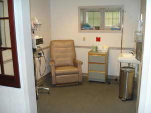 Post Operative Area Burlington County Eye Surgery Center